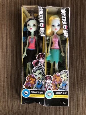 Monster high dolls $15 for both for Sale in Santa Ana, CA