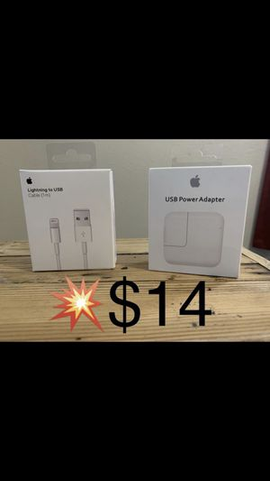 Apple USB and AC adaptor for Sale in Irwindale, CA