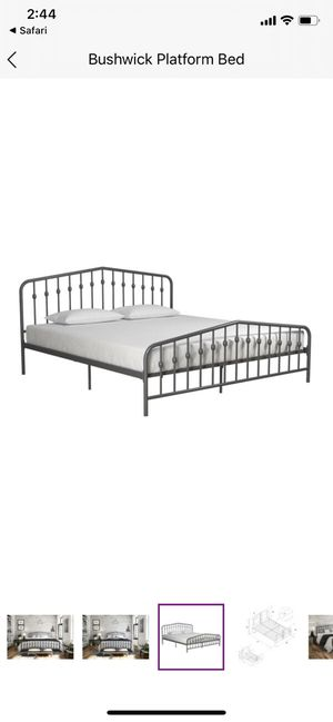 Black full bed frame for Sale in Richmond, VA