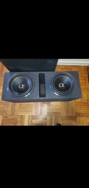 """12"""" ALPHASONIK VENUM SUBWOOFER NEWEST MODEL 2400W RMS 7200W MAX for Sale in The Bronx, NY"""