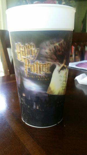 Harry Potter holographic/refractor 2001 Warner Brothers Coca-Cola collectors cup Sorcerer's Stone collectible Happy Meal Donald's DVD for Sale in Woodstock, GA