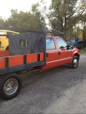 2005 Ford F-350 Flat Bed Duly Crew cab for Sale in Tecumseh, MI