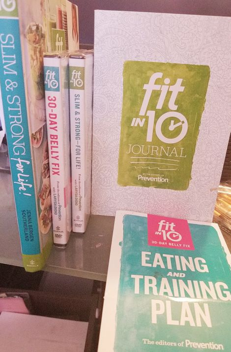 work out dvd and book