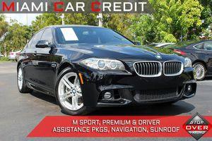 2016 BMW 5 Series for Sale in Miami Gardens, FL