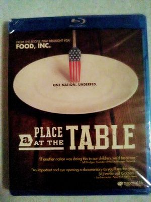 A Place At the Table Blu-ray for Sale in Aurora, OR