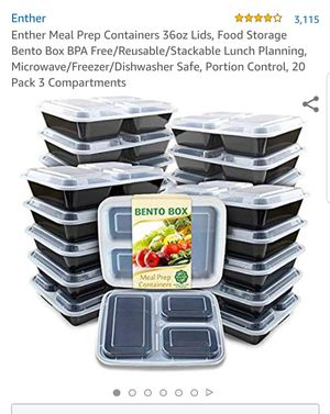 Meal prep containers / storage for Sale in Santa Ana, CA