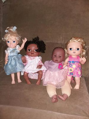Baby alive that cries and baby alive that crawls for Sale in Sebring, FL