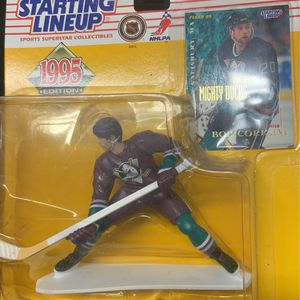 STARTING LINEUP 1995 BOB CORKUM MIGHTY DUCKS for Sale in San Marcos, CA