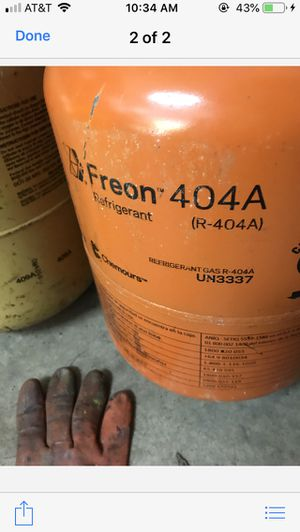 Freon 404-A for Sale in New Hartford, CT