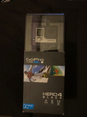 GoPro Hero 4 (Black) for Sale in San Jose, CA