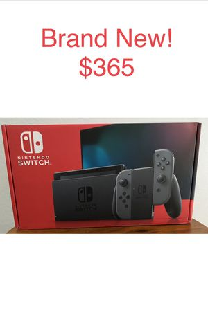 Brand New!!Nintendo Switch Console 32GB V2 Grey Joy-con controllers for Sale in Gilbert, AZ