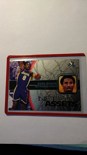 Kobe Bryant 2000-01 Fleer Net Assets Foil insert card for Sale in Cape Coral, FL