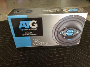 ATG Audio 6.5 3-way speakers for Sale in Glendale, AZ