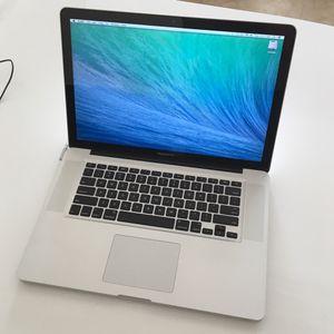 "MacBook Pro 15"" 2011 Core i7 8 GB Final Cut Pro Logic photoshop CS6 Excel macbook Apple for Sale in San Gabriel, CA"