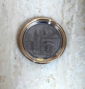 Antique Quebec Silver Plate 24k Rim Made In Italy for Sale in San Diego, CA