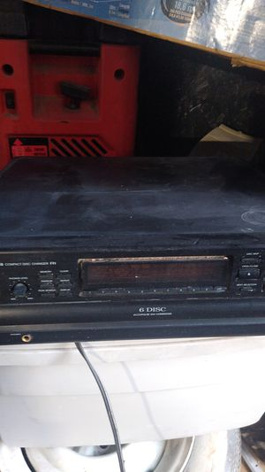 6 disk Onkyo CD changer for Sale in San Diego, CA