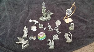 Crystal and Pewter collectibles for Sale in Peoria, IL