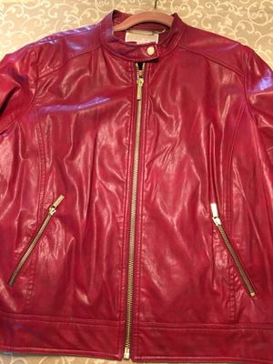 Leather jacket, Michael Kors for Sale in Los Angeles, CA
