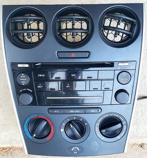 2006 2007 2008 Mazda 6 AM FM CD Player Radio With Temp Control OEM for Sale in Humble, TX