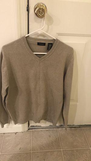 Van Heusen Men's Tan V-Neck Argyle Sweater for Sale in Dover, DE