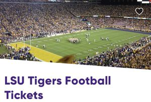LSU vs Texas A&M Section 418 South Endzone for Sale in Baton Rouge, LA