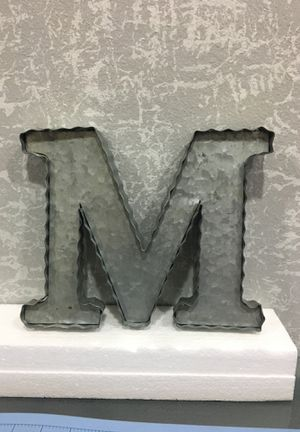 M metal letter for Sale in Hacienda Heights, CA