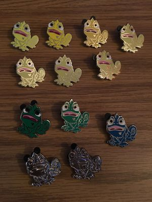Disney pins Pascal bundle!! for Sale in Watchung, NJ