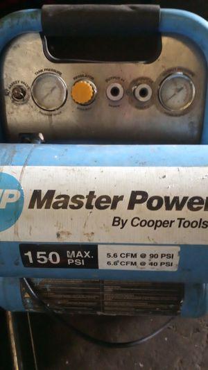 Master power compressor 150 max PSI for Sale in Hayward, CA