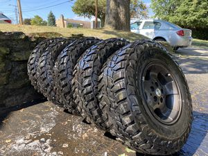 Mastercraft mxt mud terrain tires for Sale in Pittsburgh, PA
