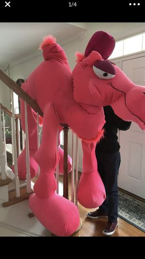 Very large pink stuffed plush camel animal for Sale in Chesterfield, VA