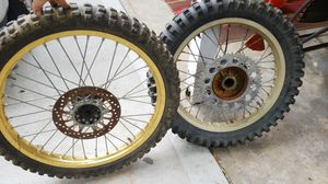Front and rear dirt bike tire for Sale in Fenton, MO