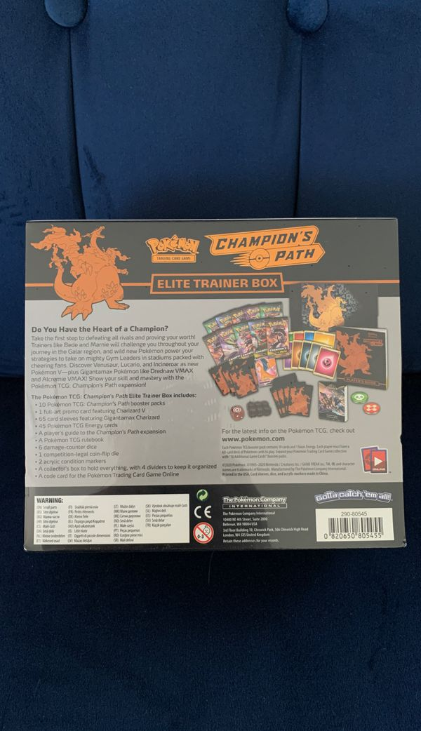 Brand New - Pokemon Champions Path Box 🔥🔥🔥