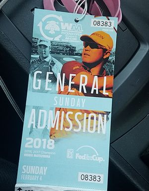 Two general admission tickets to Phoenix open Sunday 2/4 for Sale in Phoenix, AZ