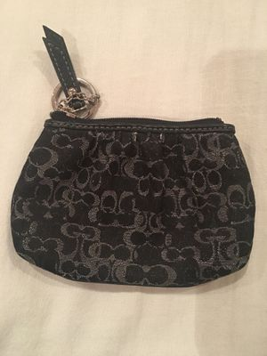 Coach change purse wallet key ring for Sale in Rockville, MD