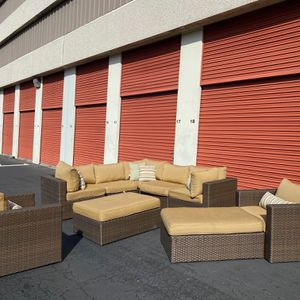 Black Friday   COSTCO Madrid 9pc Patio Deep Seating Collection   🔥$50 DOWN for Sale in San Diego, CA