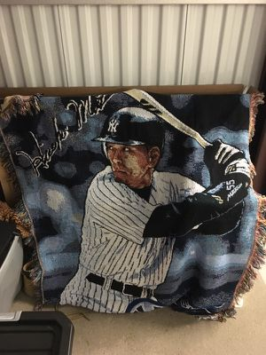 hideki matsui throw blanket for Sale in Levittown, PA
