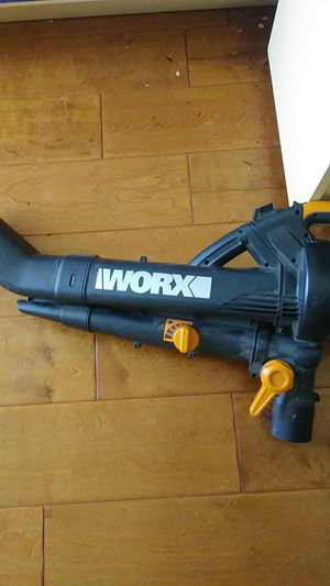 New $139.99 at home depot iWorx leaf blower latest model, comes with large attachable bag, electric/gas power combo for Sale in Los Angeles, CA