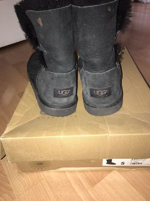Ugg black button for Sale in San Diego, CA