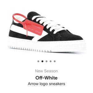 OFF WHITE Arrow Logo Sneakers for Sale in Glendale, CA