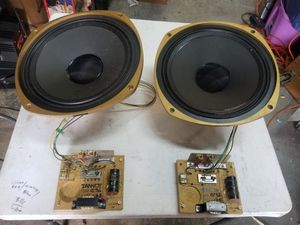 "TANNOY PUMA CONCENTRIC 15"" SPEAKERS W/CROSSOVERS for Sale in Chicago, IL"