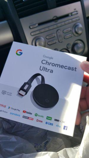 Chromecast 4k for Sale in Lizton, IN