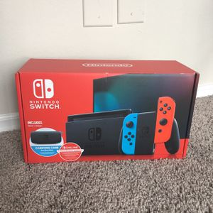 Nintendo Switch + 12 Month Nintendo Game Subscription + Nintendo Case for Sale in Silver Spring, MD