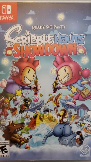 Nintendo Switch Scribble Nauts Showdown for Sale in Santa Ana, CA