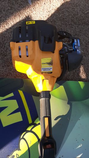 Cub Cadet weed trimmer and saw head for Sale in Greer, SC