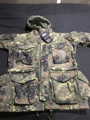 "A brand new ""NEVER WORN"" with tags still on a Men's Smock Generation II Flecktarn. for Sale in Reston, VA"