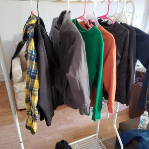 Boys Size 4-6 Long Sleeve Shirts/sweaters/jackets for Sale in Alton, IL