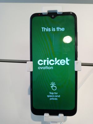 Cricket ovation for Sale in Wilmington, DE