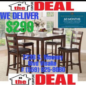 5-PC Dining Set $299 for Sale in Tulare, CA