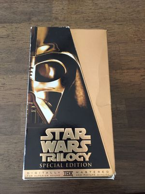 Star Wars Trilogy VHS for Sale in Temecula, CA