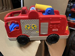 Fisher price little people fire truck for Sale in Las Vegas, NV